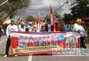 Meriahkan Hari Kemerdekaan, Kecamatan Muncar Gelar Pawai Budaya