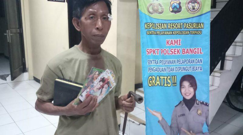Berkali-kali Beraksi di Pasar Bangil, Kustawi Akhirnya Tertangkap Basah dan Kini Dijebloskan ke Penjara