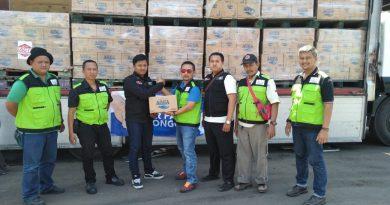 Danone AQUA bersama ACT Jatim Kirimkan Bantuan untuk Korban Palu Donggala