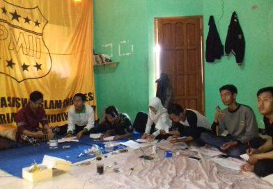 Kabarpas dan PMII Salahuddin Bersinergi Adakan Sekolah Jurnalistik