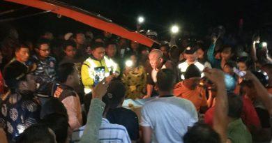 Diduga Dipresi, Seorang Pemuda Melompat Dari Atas Jembatan Tegaron