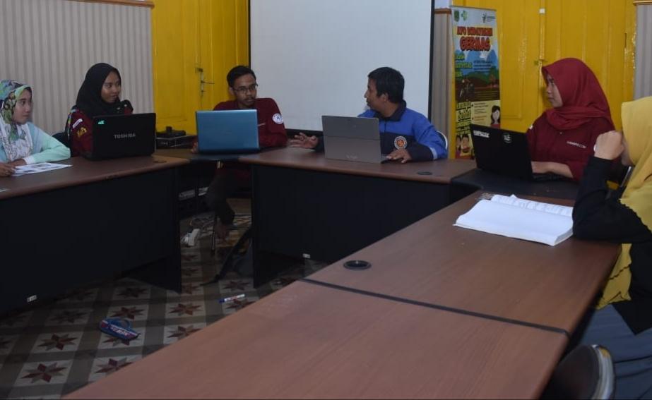 Perdana, Kabarpas.com Buka Sekolah Jurnalistik