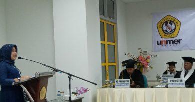 Tulis Desertasi Tentang Pengembangan Logam di Kota Pasuruan, Nisful Laily Raih Gelar Doktor