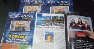 Telah Terbit Majalah Kabarpas Edisi Perdana