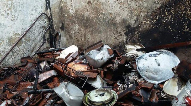 Ditinggal ke Pasar, Rumah Ludes Terbakar