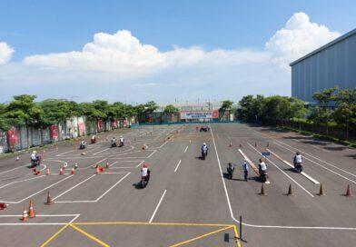 Terapkan Prokes, MPM Honda Jatim Adakan Pelatihan Safety Riding di MPM Safety Riding Centre
