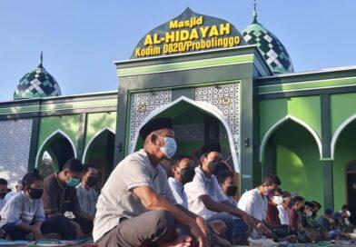 Pelaksanaan Salat Id Masjid Al Hidayah Terapkan Protokoler Kesehatan Ketat