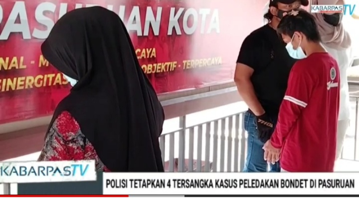 Polisi Tetapkan 4 Tersangka Kasus Ledakan Bondet di Pasuruan