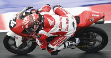 Pembalap Magetan, Mario Aji Tampil Impresif di Sesi Latihan GP Moto 3 Misano